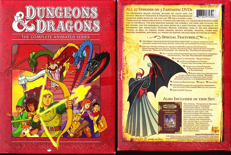 """""""Dragones y mazmorras"""" serie mítica de los años 80, referencia para toda una generación."""