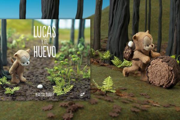 """""""Lucas y el huevo"""", un encantador cuento sin palabras"""