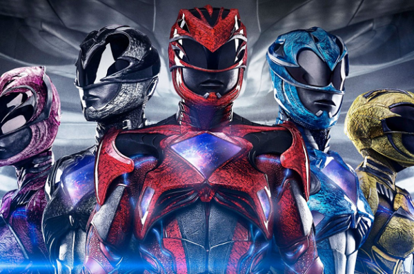 Go, Go, Power Rangers !!