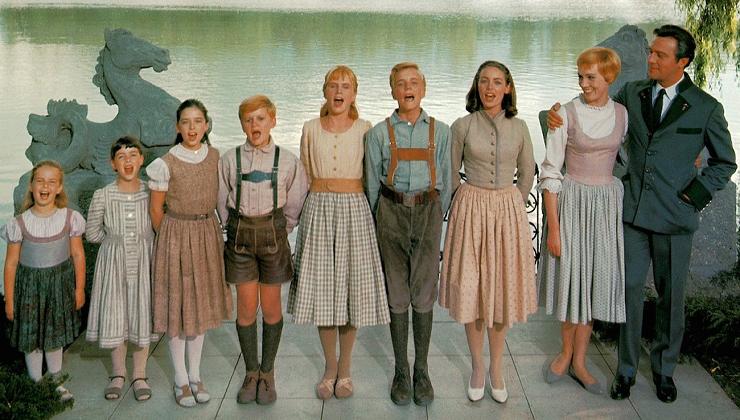 María se hará cargo de los siete hijos del capitán von Trapp