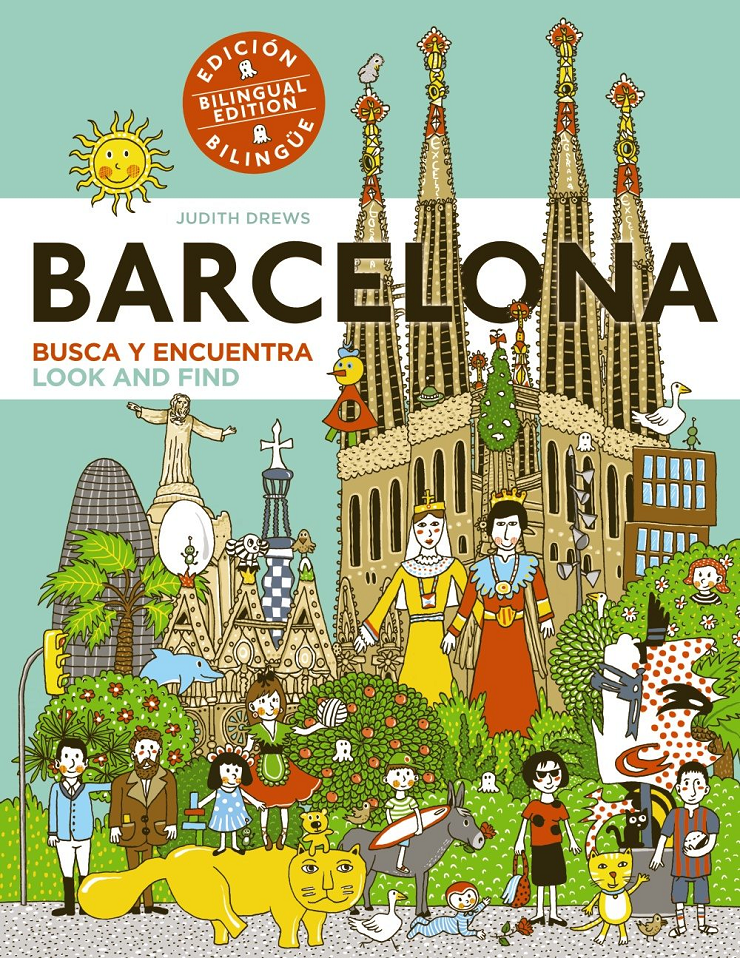 El libro dedicado a Barcelona es la primera edición bilingüe de la colección.