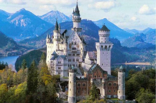Neuschwanstein, un castillo de película