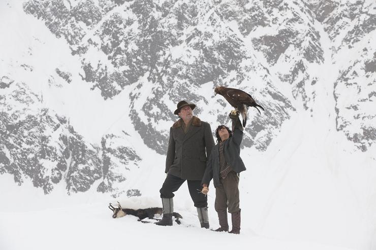 """""""Hermanos del Viento"""" está filmada en unas localizaciones espectaculares en los Alpes."""