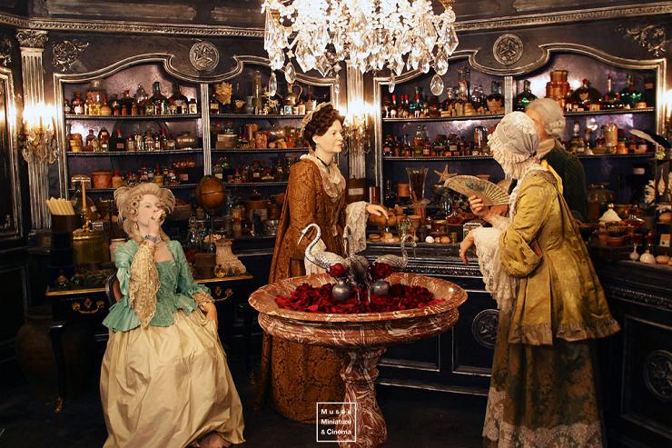 """La película """"El Perfume"""" y sus decorados están muy presentes en la exposición permanente."""