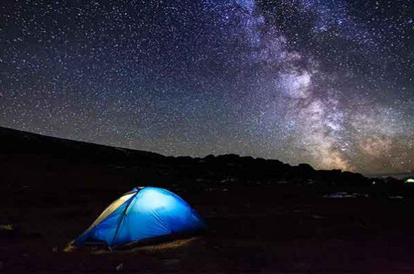 LLuvia de estrellas en Sierra Nevada, ¿te vienes?
