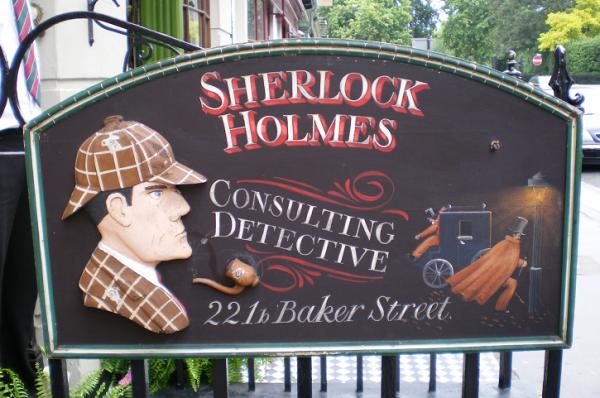 Siguiendo la pista a Sherlock Holmes