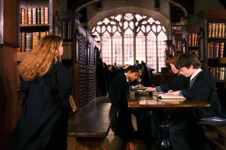 La Bodleian Library fue un punto de encuentro habitual entre Harry y sus amigos.