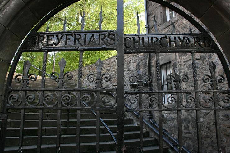 El Cementerio de Greyfriars se convertiría en otra de las fuentes de inspiración de Harry Potter.