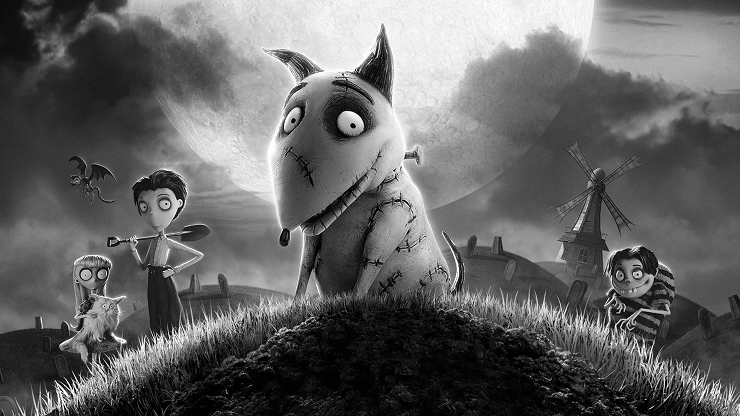 """""""Frankenweenie"""" es una de las películas más deliciosas de Tim Burton"""