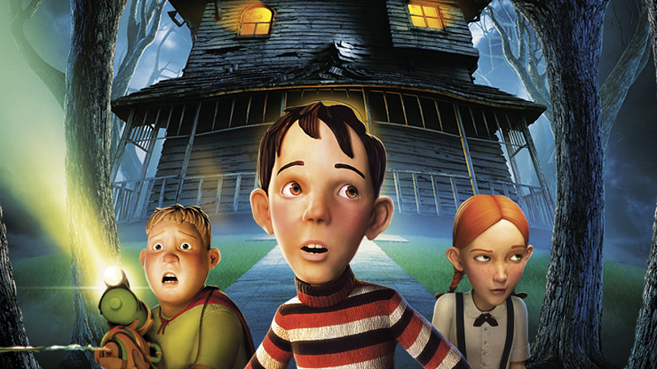 """""""Monster House"""" es un homenaje a las películas adolescentes de los 80."""