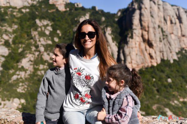 Descubrimos Montserrat y la naturaleza en familia