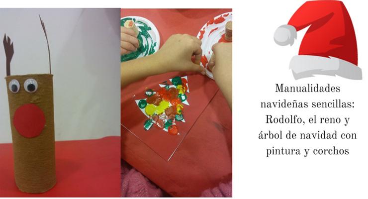 manualidades navideñas sencillas para hacer con niños
