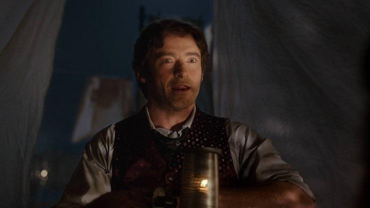 Barnum se presenta en el filme como un hacedor de grandes fantasías.