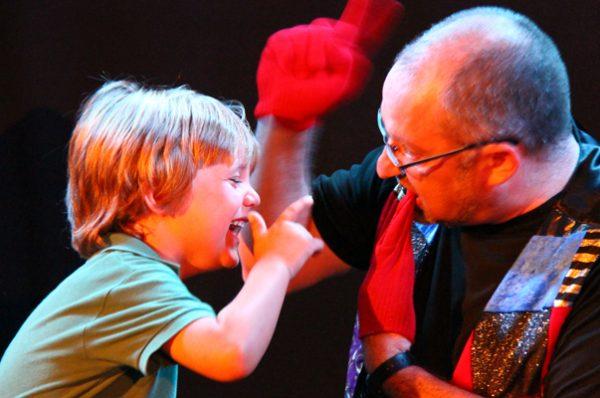 Ciclo de magia en Teatro Luchana Kids