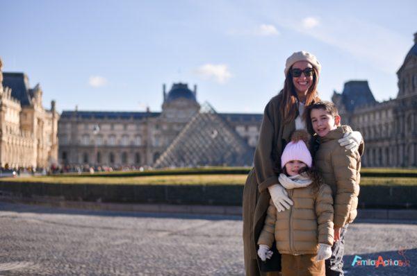 Paris con niños, viajes en familia
