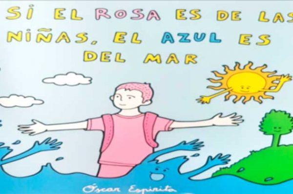 Leer en familia: Si el rosa es de las niñas, el azul es del mar