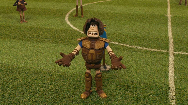 """""""Cavernícola"""" nos hace descubrir los verdaderos orígenes del fútbol."""