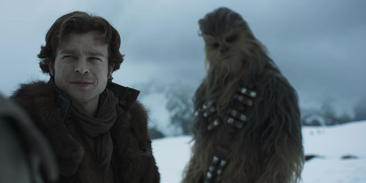 Han y Chewbacca comenzarán a forjar su mítica amistad en este filme.