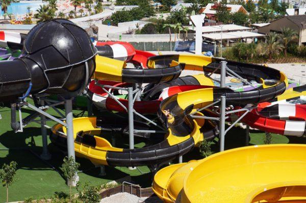 Nuevas atraccciones en Parque Warner Beach