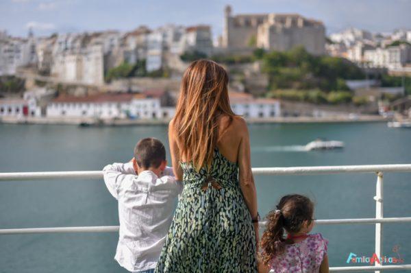 Vacaciones en barco de Trasmediterranea ¿o en avión?