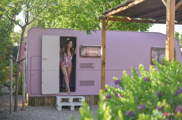 Camping Miramar, Caravanas Vintage para disfrutar en familia