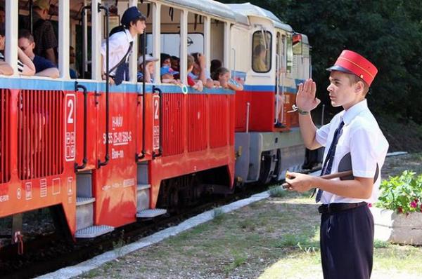El Tren de los Niños de Budapest