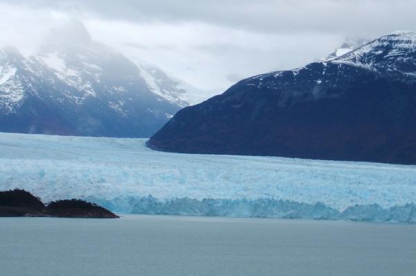 Viajamos al imperio del hielo en Argentina