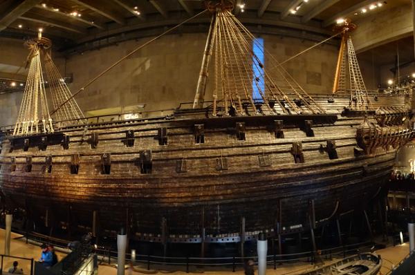 Viajamos al fascinante Museo Vasa de Estocolmo
