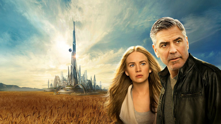 """""""Tomorrowland"""" (2015) fue una estimable cinta de aventuras inspirada en el universo de Julio Verne."""