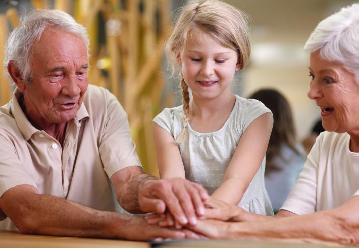 Familias activas abuelos