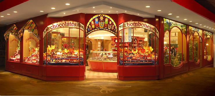 La chocolatería Mamushka está considerada como una de las mejores sobre la faz de la Tierra.