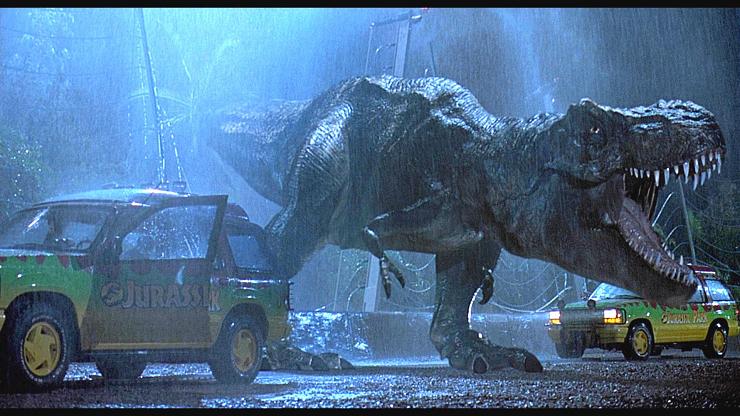 """""""Parque Jurásico"""" traería los dinosaurios de nuevo a la vida como nunca se habían visto en la pantalla."""