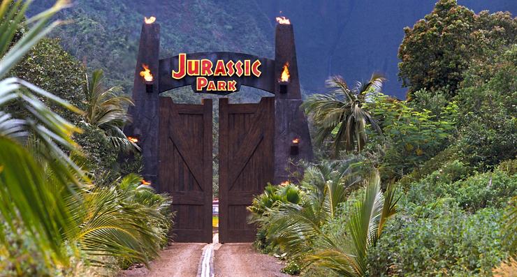La entrada a Parque Jurásico supuso un gran momento emocional para toda una generación de espectadores.