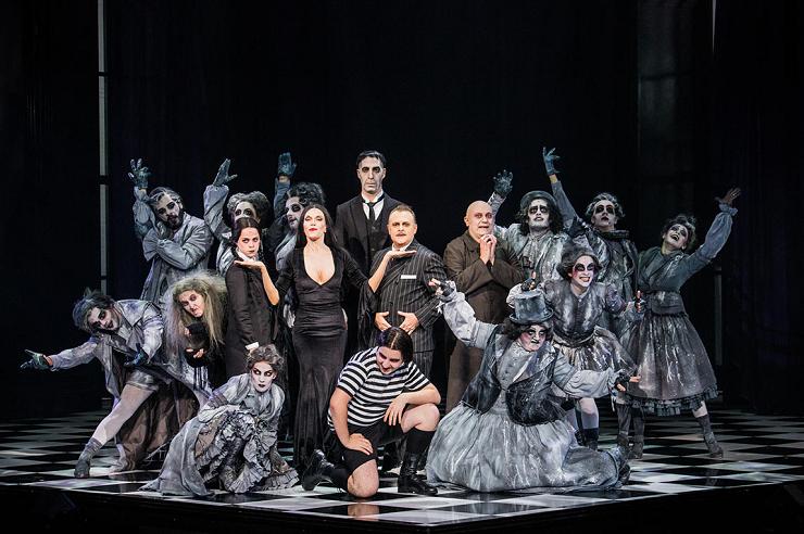 La familia Addams se reinventa al más puro estilo Broadway