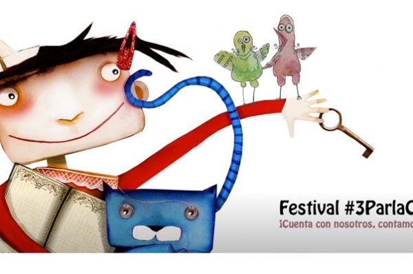 Contamos cuentos en el Festival de Cuentos de Parla (Madrid)