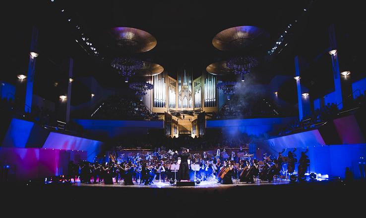 La Film Symphony Orchestra durante una de sus actuaciones en el Auditorio Nacional de Madrid