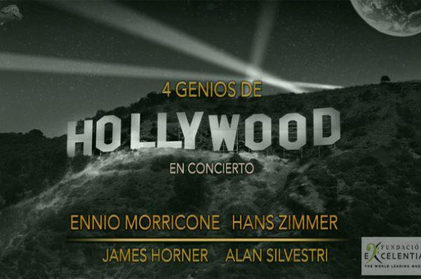 Cuatro genios de Hollywood en concierto