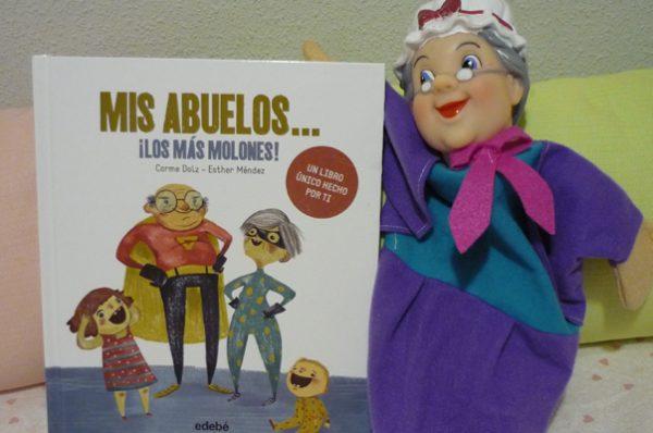 'Mi abuelos… ¡lo más molones!, un libro para descubrir a los auténticos superhéroes de la familia