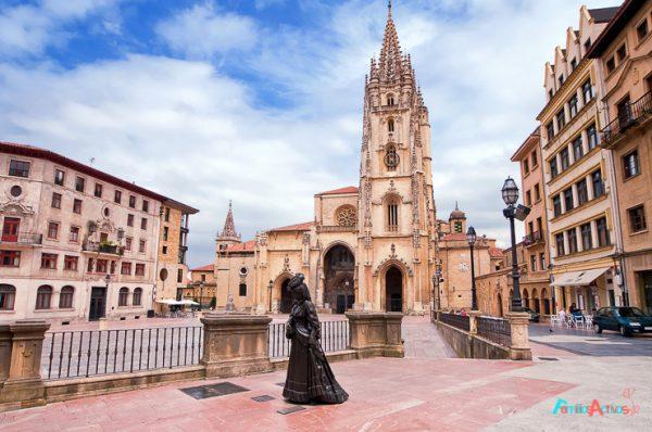 Viaje a Oviedo en familia