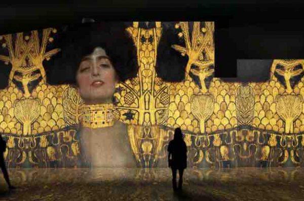 El oro de Klimt en Sevilla: una experiencia inmersiva para explorar su obra