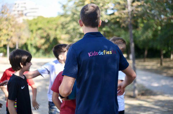 Fiestas infantiles en Barcelona, haz una yincana deportiva