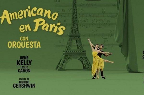 """""""Un Americano en París"""" con orquesta"""