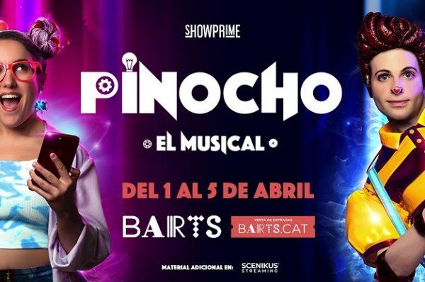 """Pinocho, el musical"" llega a Barcelona"