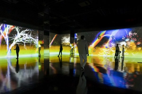 teamLab: arte, tecnología, naturaleza